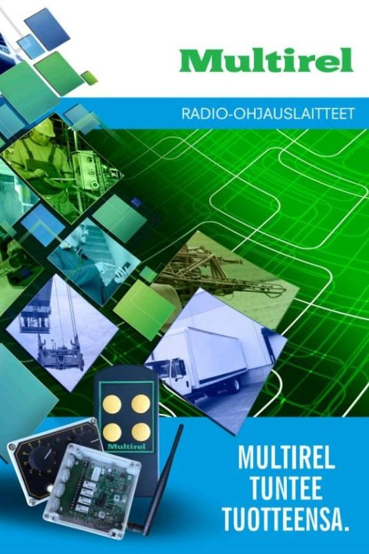 Multirel Tuntee Tuotteensa radio-ohjaimet